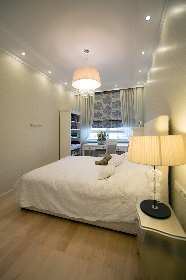 Фото № 59478 спальня  Квартира