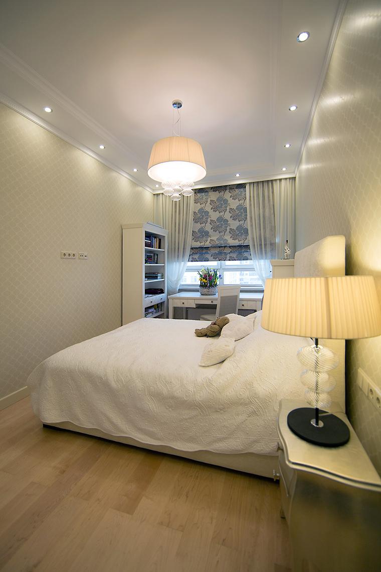 интерьер спальни - фото № 59478