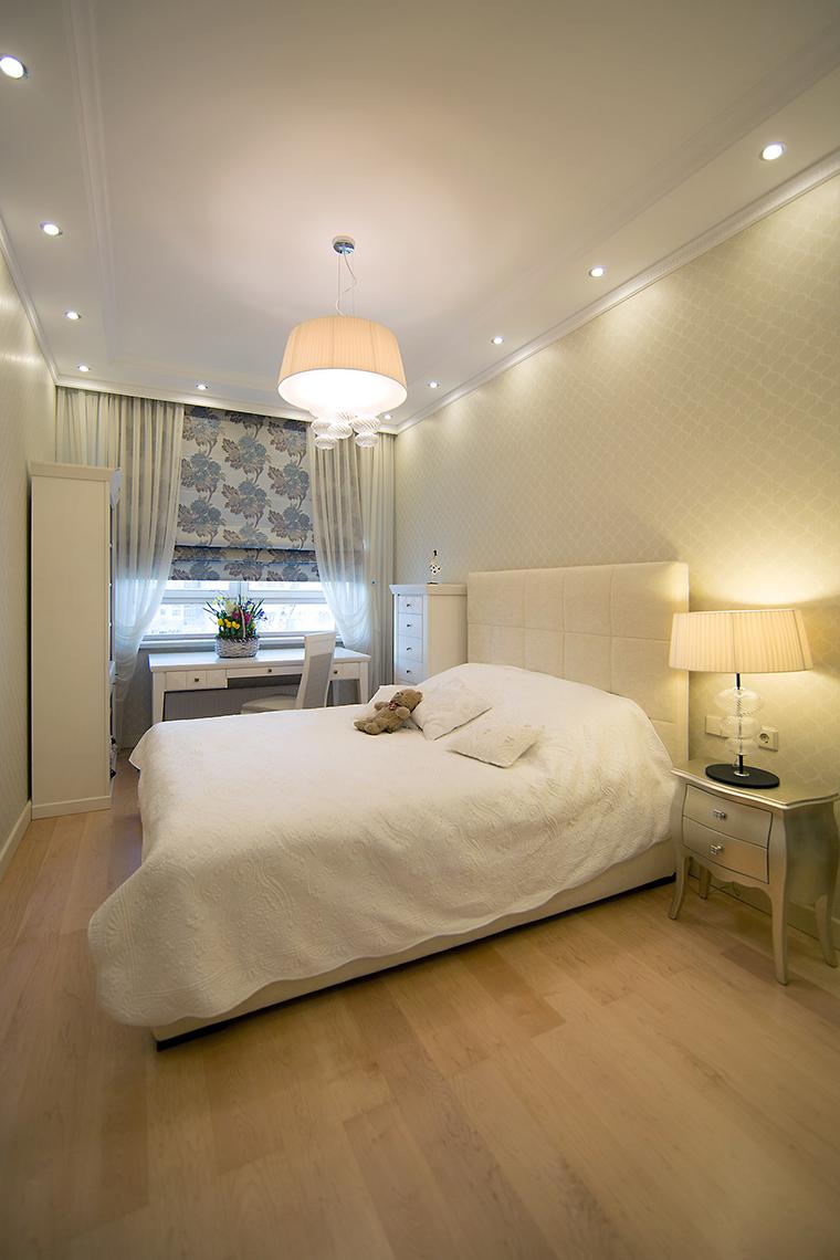 интерьер спальни - фото № 59479