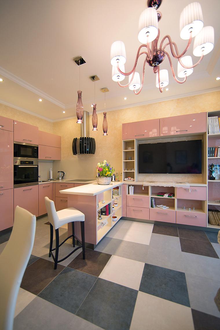 Фото № 59470 кухня  Квартира