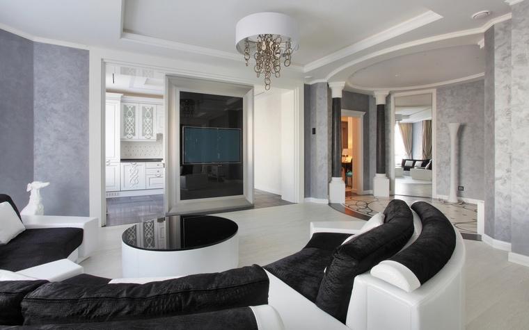 интерьер гостиной - фото № 59495