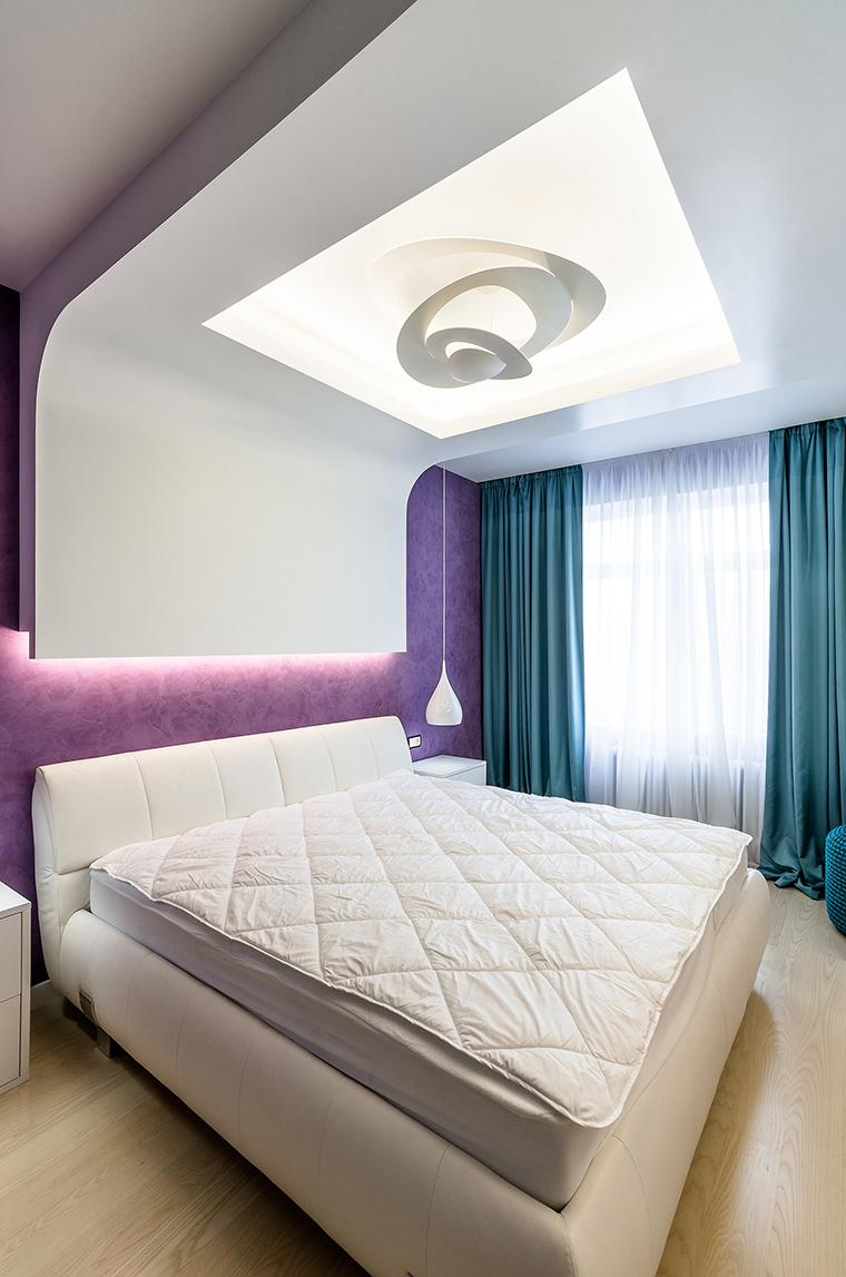 Квартира. спальня из проекта , фото №59530