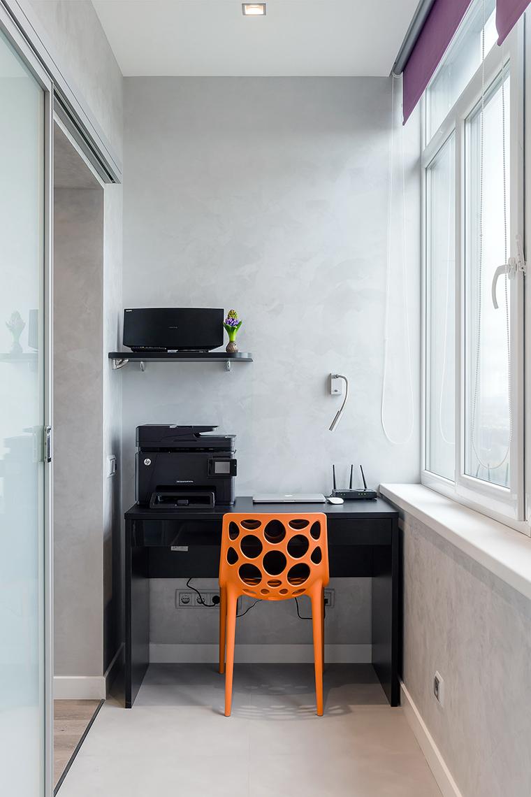 Квартира. веранда лоджия из проекта , фото №59537