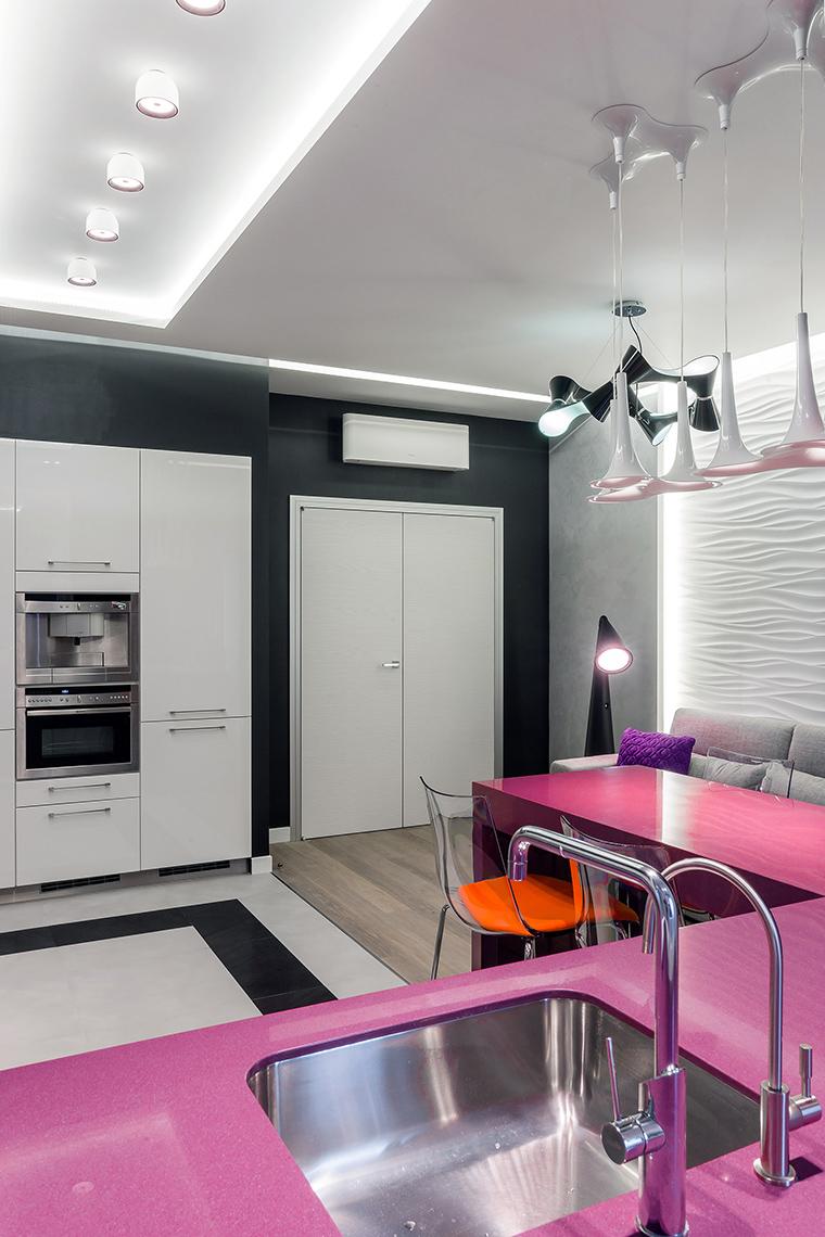 Квартира. кухня из проекта , фото №59540
