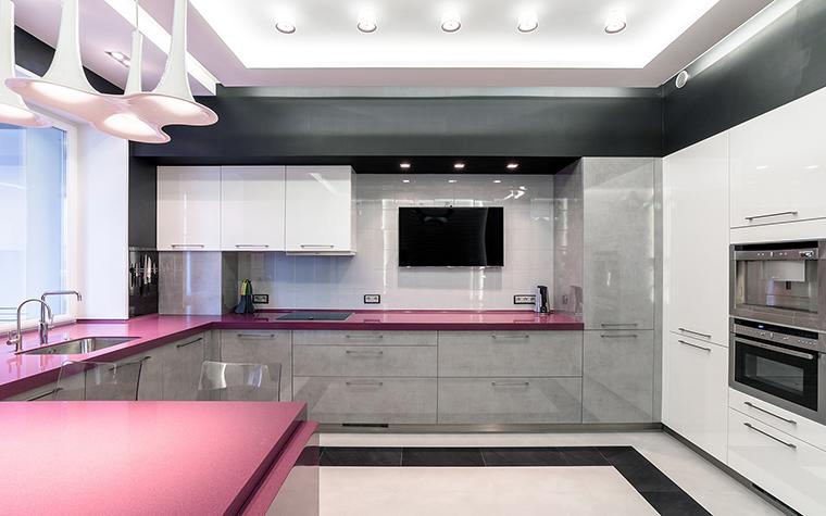 Квартира. кухня из проекта , фото №59543