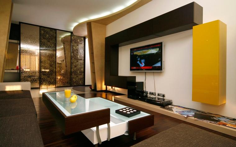 интерьер гостиной - фото № 59644