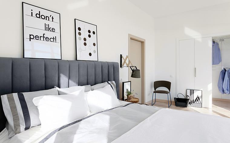 интерьер спальни - фото № 59669