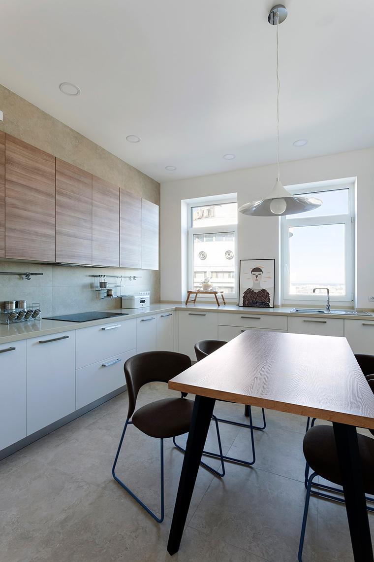 Фото № 59663 кухня  Квартира