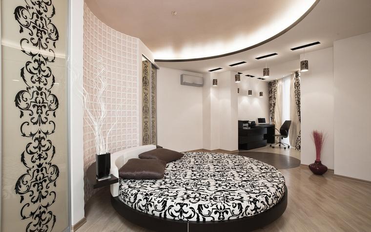 Квартира. спальня из проекта , фото №59659