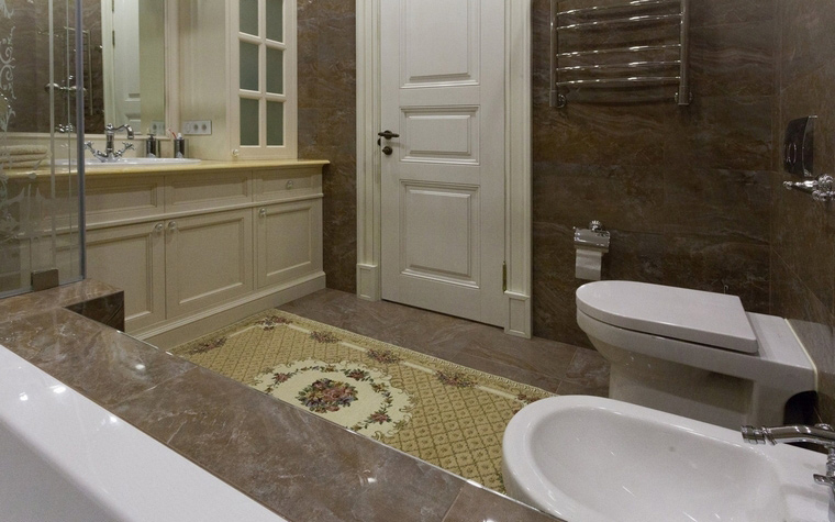 Квартира. ванная из проекта , фото №59789