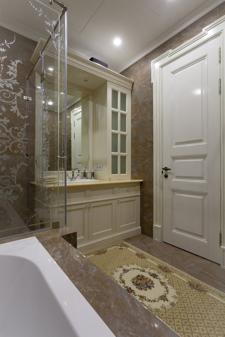 Квартира. ванная из проекта , фото №59787