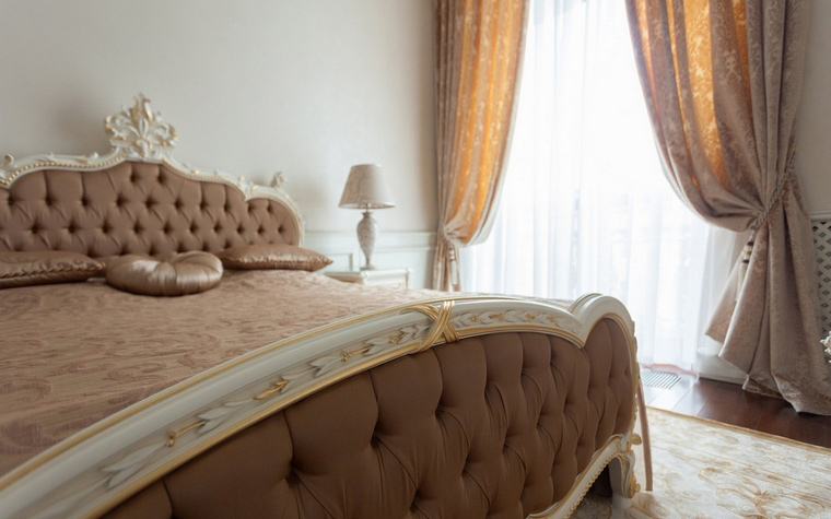 Квартира. спальня из проекта , фото №59796