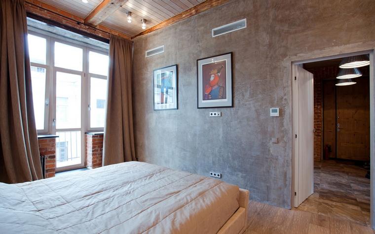 Квартира. спальня из проекта , фото №59914
