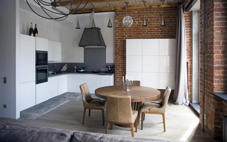 Квартира. кухня из проекта , фото №59906