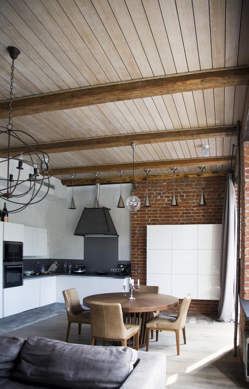 Квартира. кухня из проекта , фото №59907