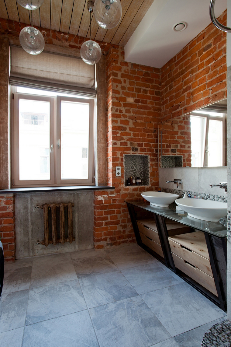 Квартира. ванная из проекта , фото №59908