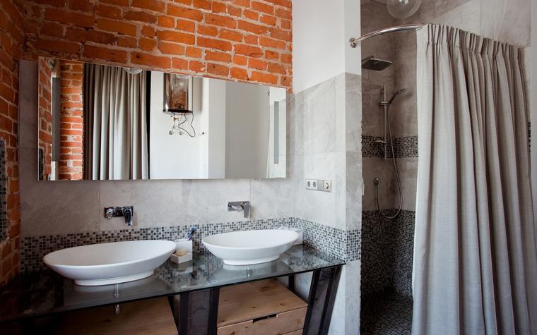 Квартира. ванная из проекта , фото №59909