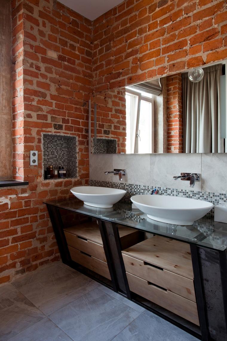 Квартира. ванная из проекта , фото №59910