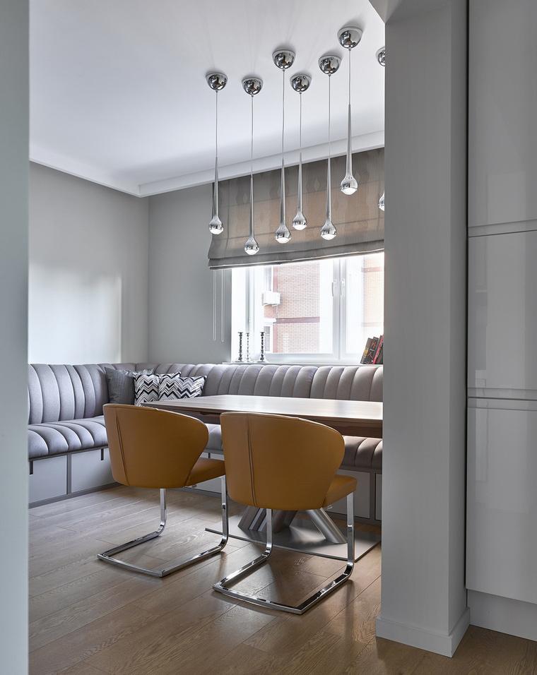 Квартира. столовая из проекта , фото №59946