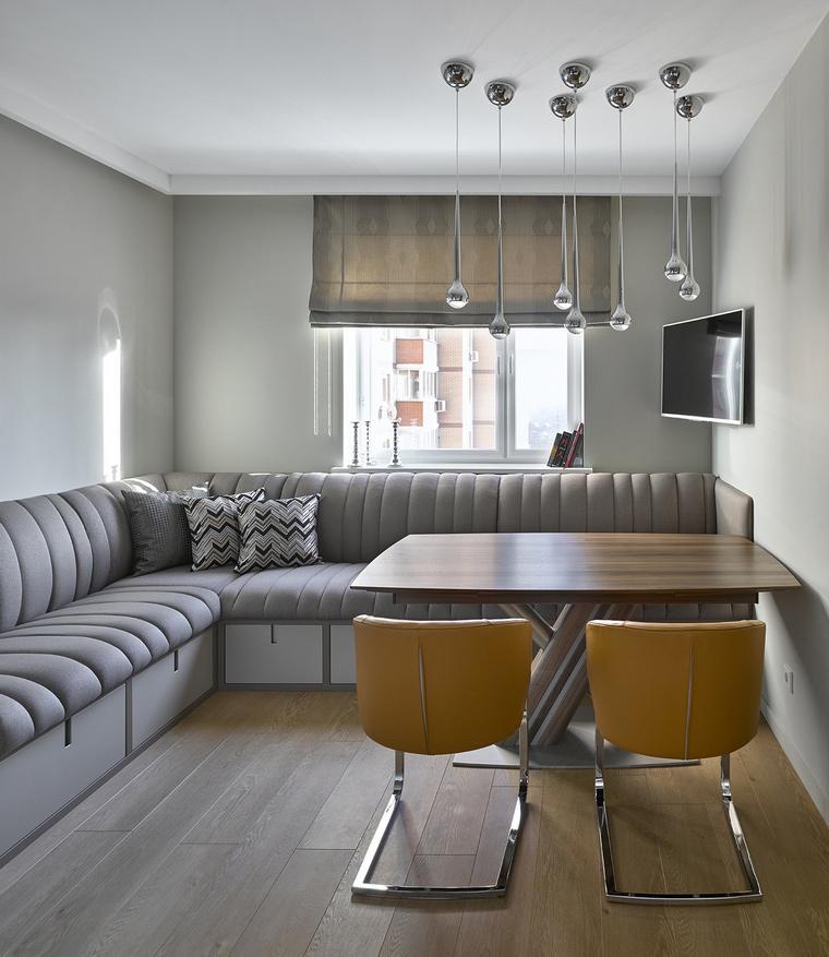 Квартира. столовая из проекта , фото №59945