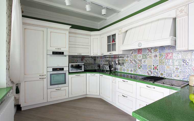 Фото № 60090 кухня  Квартира