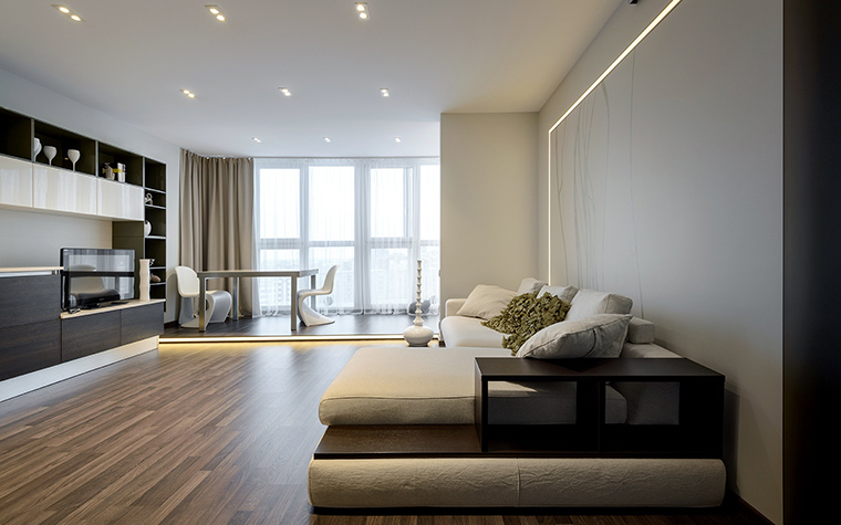 Фото № 60187 гостиная  Квартира