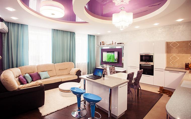 интерьер гостиной - фото № 60210