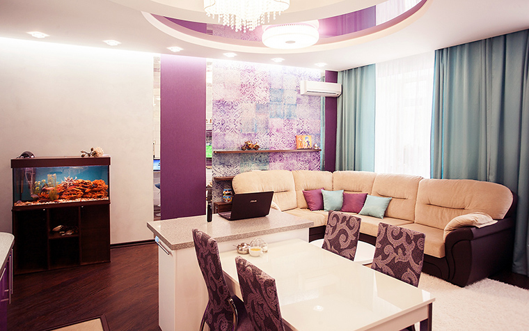 интерьер гостиной - фото № 60212