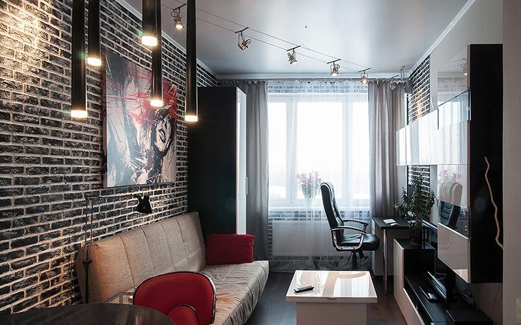 Квартира. гостиная из проекта , фото №60213