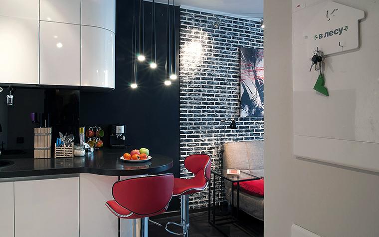 Квартира. кухня из проекта , фото №60222