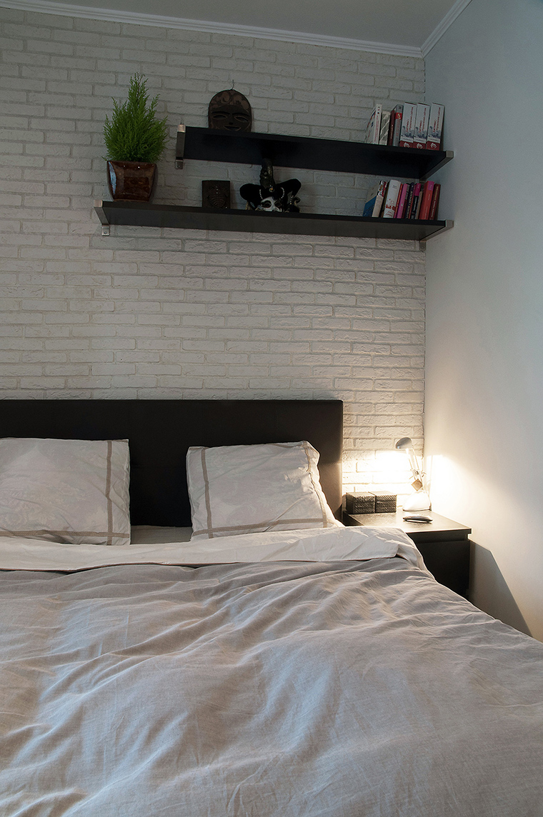 Квартира. спальня из проекта , фото №60227