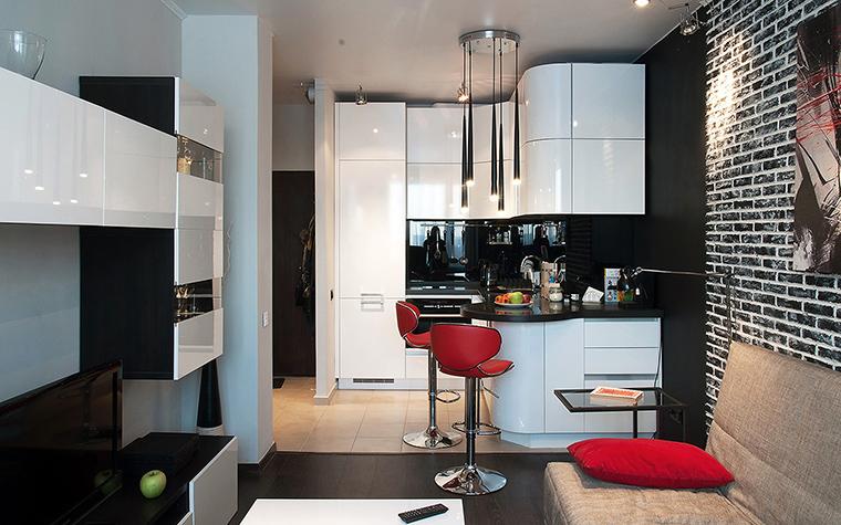 Квартира. кухня из проекта , фото №60220