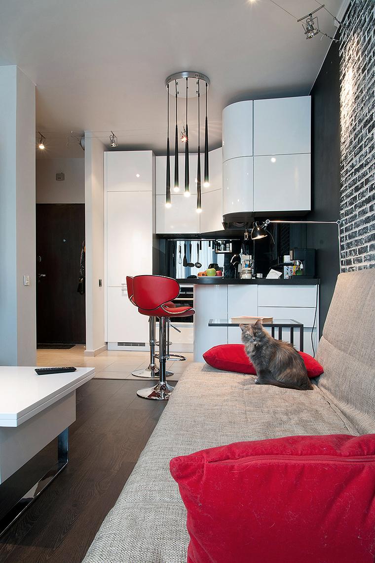 Квартира. кухня из проекта , фото №60221