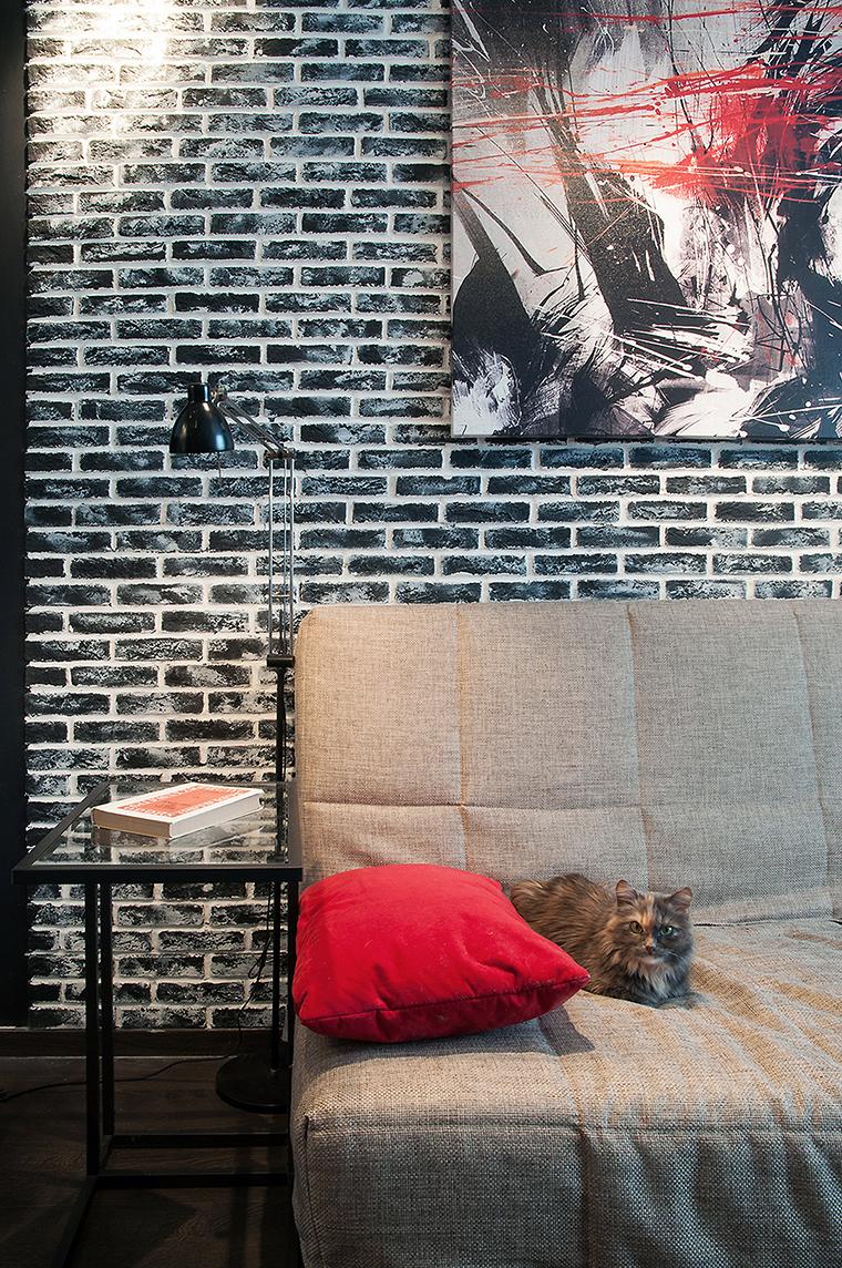 Квартира. гостиная из проекта , фото №60217