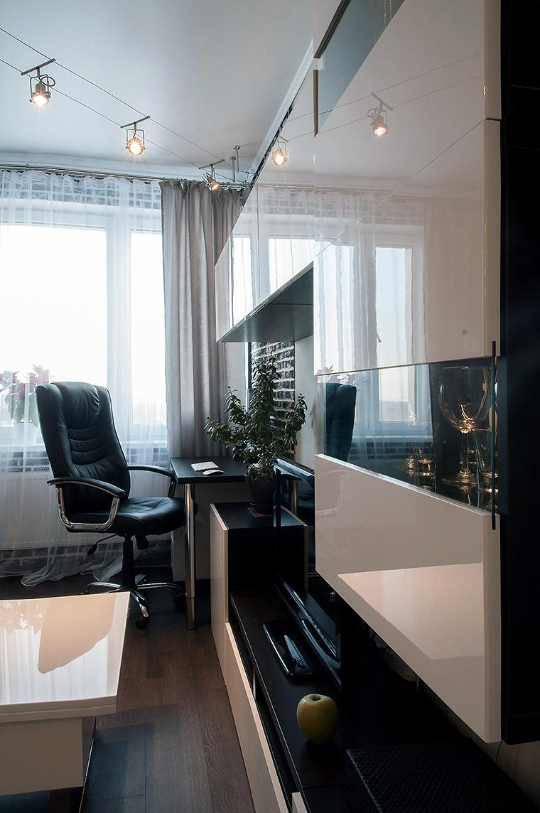 Квартира. гостиная из проекта , фото №60218