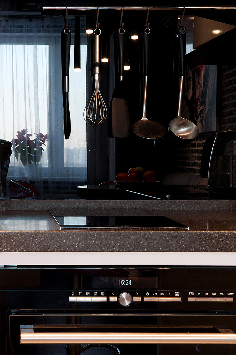 Квартира. кухня из проекта , фото №60223