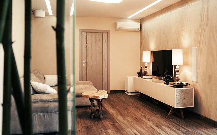 интерьер гостиной - фото № 60270