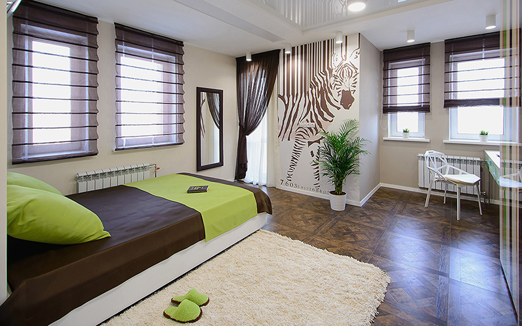 Квартира. спальня из проекта , фото №60348