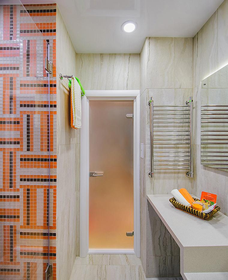 Квартира. ванная из проекта , фото №60359