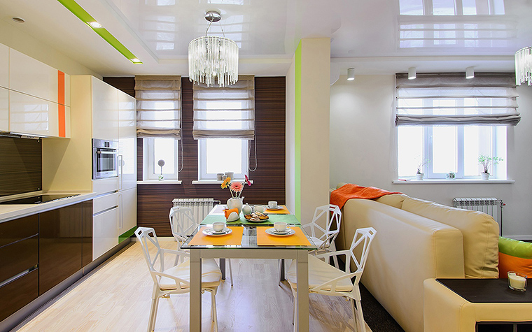Квартира. кухня из проекта , фото №60360