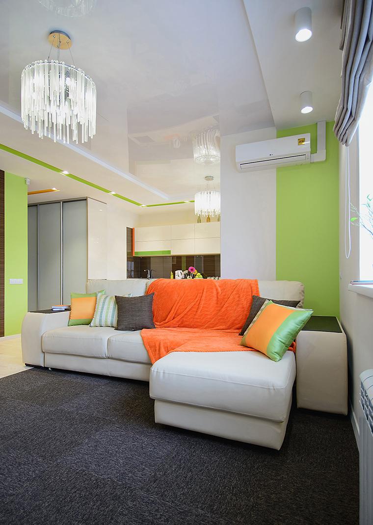 Квартира. гостиная из проекта , фото №60367