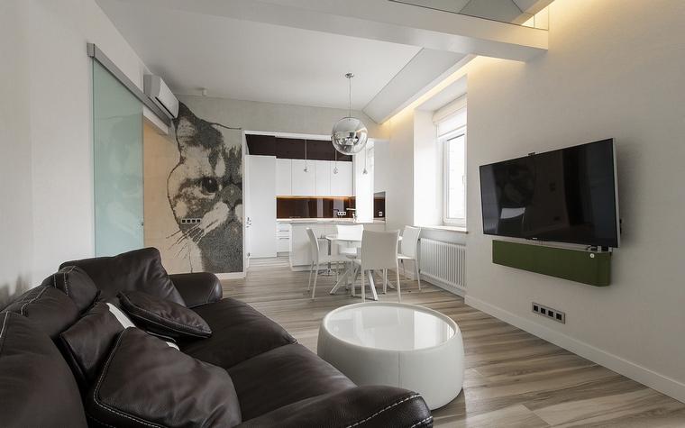 Квартира. гостиная из проекта , фото №60504