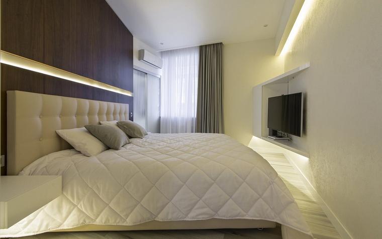 Квартира. спальня из проекта , фото №60509