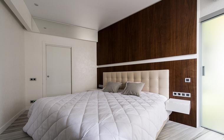 Квартира. спальня из проекта , фото №60510