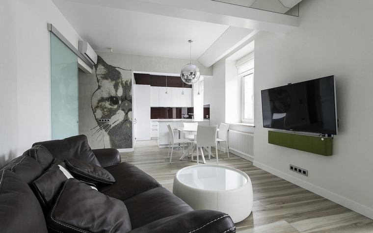 Квартира. гостиная из проекта , фото №60503