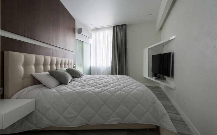Квартира. спальня из проекта , фото №60508