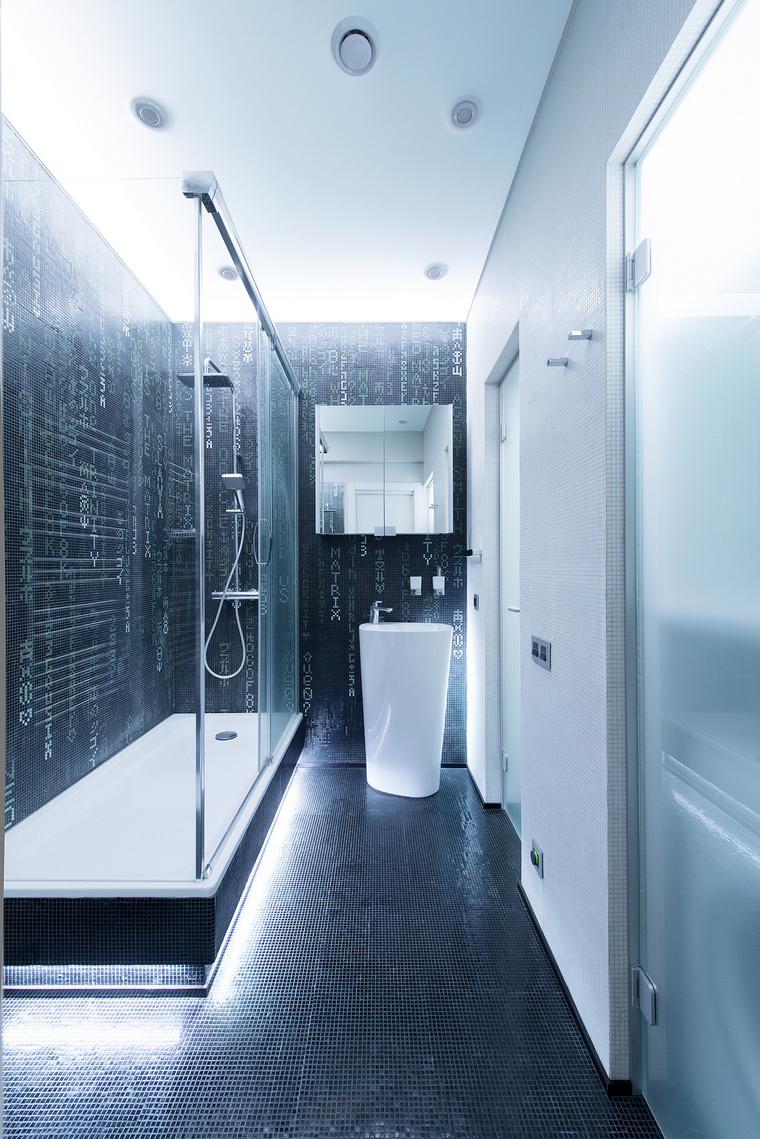 Квартира. ванная из проекта , фото №60566