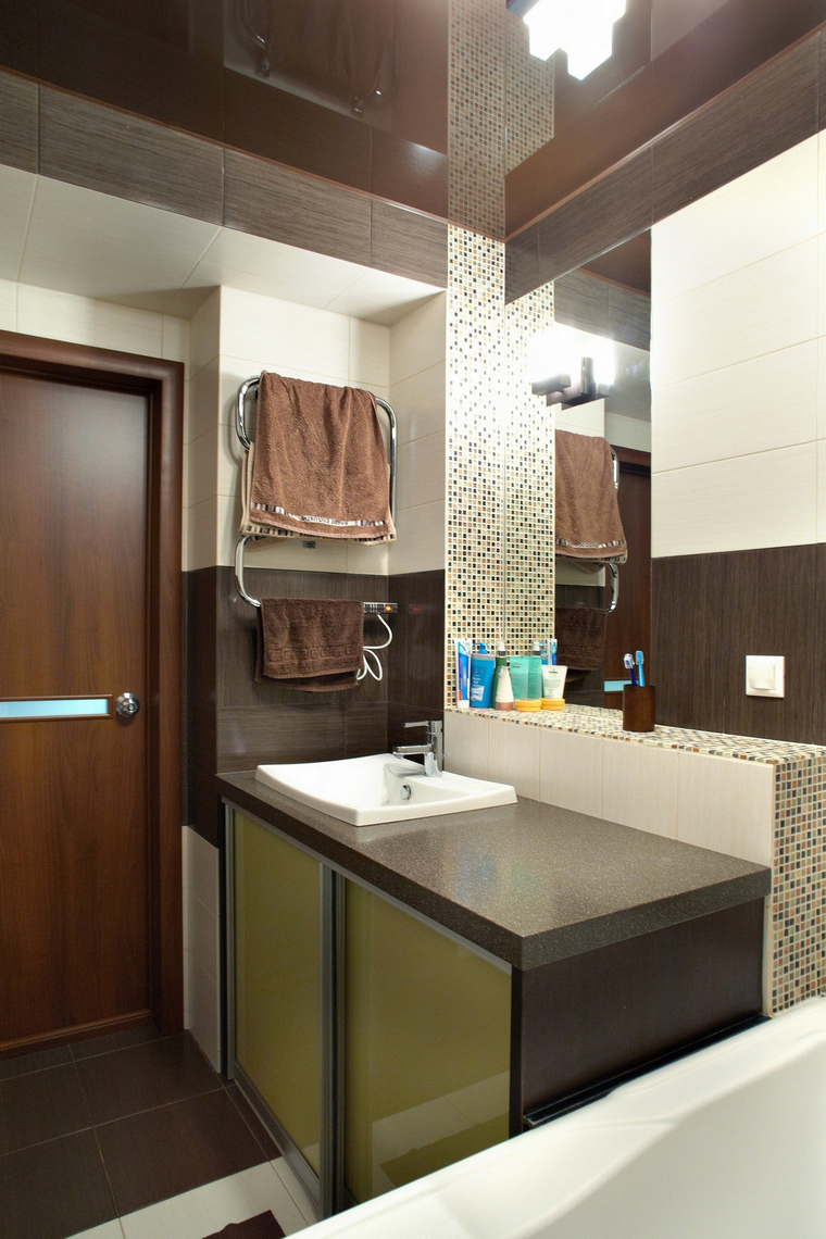 Квартира. ванная из проекта , фото №60595