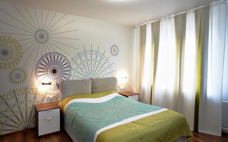 Квартира. спальня из проекта , фото №60594