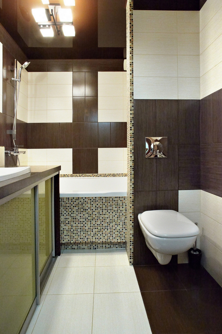 Квартира. ванная из проекта , фото №60596